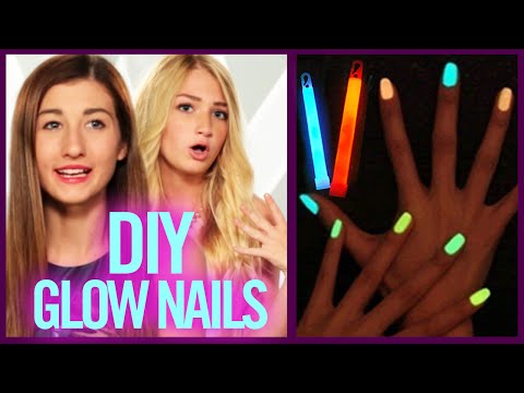 Nail - Kool-Aid Lip Stain - http://bit.ly/1m3EK81 DIY Smudge Liner w/ Mahogany Lox - http://bit.ly/1sef9hL What's better than glow sticks? Glow nail polish! The mos...