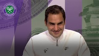 Roger Federer discusses reaching the Quarter-finals of Wimbledon 2017. SUBSCRIBE to The Wimbledon YouTube Channel: ...