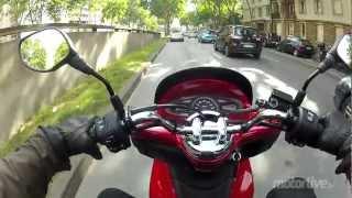 7. Essai Honda PCX 125 2012