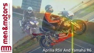 9. Richard Hammond Reviews The Aprilia RSV And Yamaha R6
