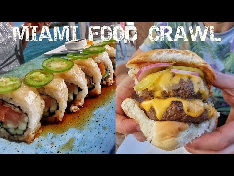 DEVOUR POWER Miami: 3 Of Our Favorite Spots! FOOD CRAWL