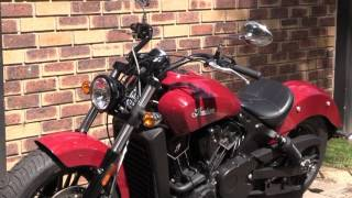 6. 2017 Indian Scout Sixty