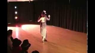 Argentine Tango Dancers Gustavo And Jesica Hornos