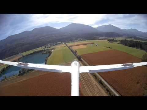 DG1000 rc - Bernhard und Robert fliegen ihre zwei DG 1000 von Paritech mit einer Spannweite von je 8,88 Metern!
