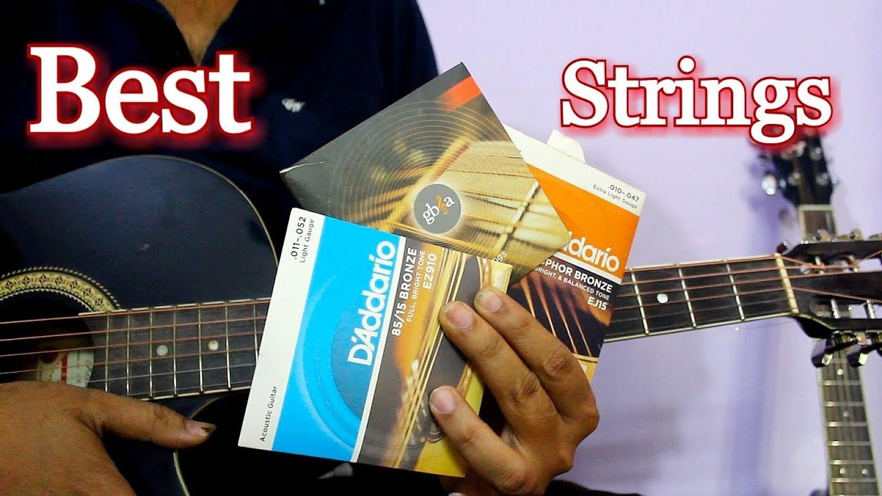 Best Acoustic Guitar Strings – Complete Guide In Hindi
