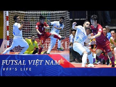 VCK FIFA FUTSAL WORLD CUP: FUTSAL VIỆT NAM THẮNG TRẬN LỊCH SỬ