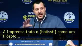 Pânico na Band - MINISTRO DO INTERIOR DA ITÁLIA, AGRADECE O GOVERNO BOLSONARO PELA PRISÃO DE CESARE BATTISTI