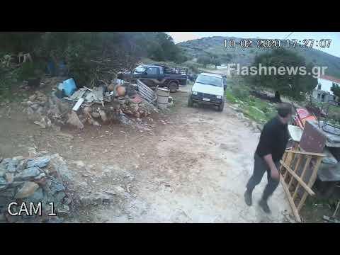 "Video - Φονικό στο Λασίθι: Αντιμέτωπος με την οργή των συγγενών ο κατηγορούμενος - ""Φονιά θα σε περιμένουμε"" (φώτο - βίντεο)"
