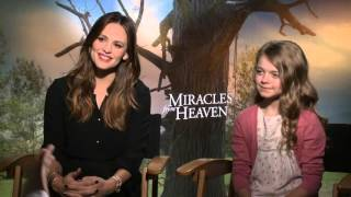 Miracles From Heaven: Jennifer Garner & Kylie Rogers Exclusive Interview