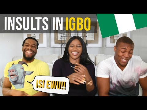 Learning Igbo: FUNNY INSULTS !! Pt.1