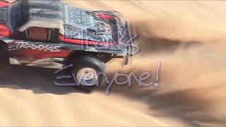 Slash RC Car In Glamis Sand Dunes