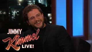 Kit talks about not being able to go anywhere without being recognized with the global success of 'Game of Thrones,' and he reveals that he would be willing ...