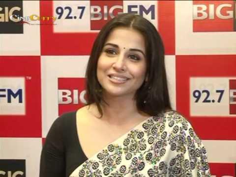 Vidya Balan Launches Big FM New Jingle