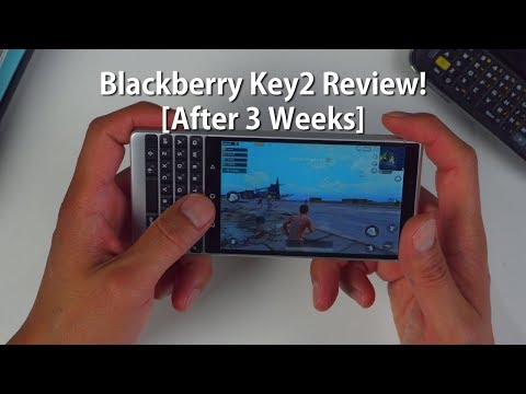 Blackberry Key2 Review! [After 3 Weeks]