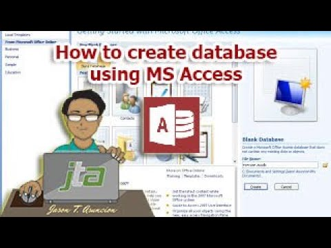 how to create database