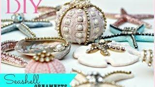 DIY Seashell Christmas Ornaments - YouTube