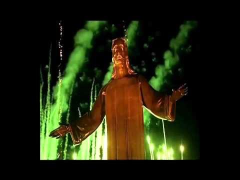 Cristo Rey encendido en Silao