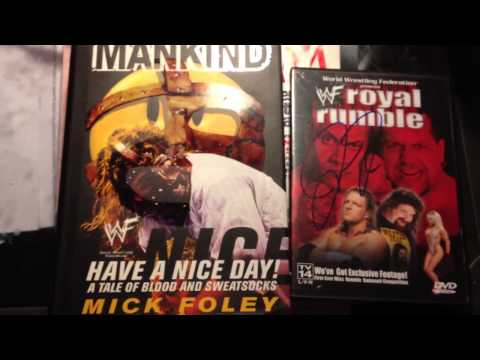 Mick Foley Autographs from Comedy Show