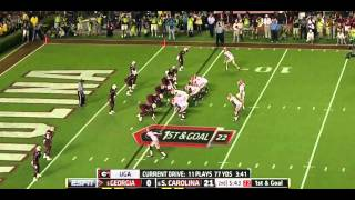 DeVonte Holloman vs Georgia (2012)
