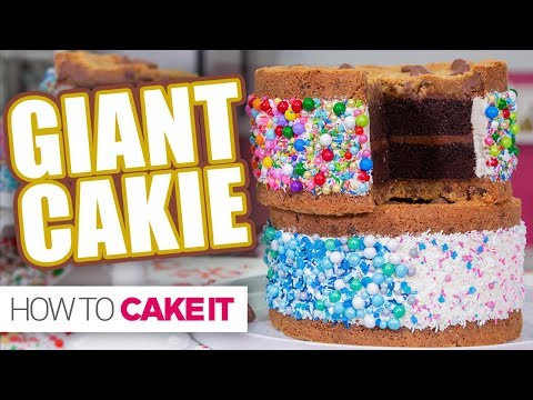 GIANT CAKIE! | How To Cake It