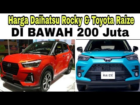 Harga Daihatsu Rocky & Toyota Raize Di Bawah 200 juta?