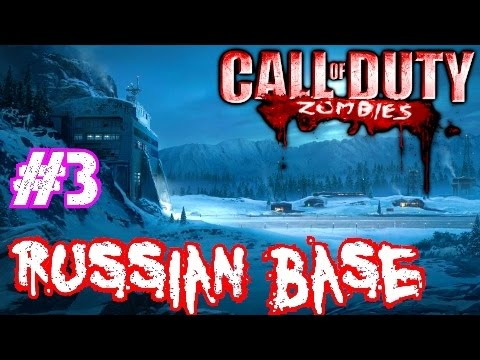 cod - Call of Duty: World at War ▻store.steampowered.com/app/10090/ Join the NGT Zombie Horde! ▻ http://bit.ly/JoinNGTZombies Call of Duty Custom Zombies: RUSSIAN BASE· ALL the CoD Zombie...