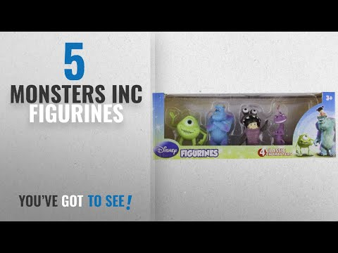 Top 10 Monsters Inc Figurines [2018]: Beverly Hills Teddy Bear Company Monsters Inc. Toy Figure,