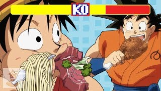 Video Who Can Eat the Most in Anime? - Ultimate Anime Showdown | Get In The Robot MP3, 3GP, MP4, WEBM, AVI, FLV November 2018