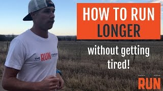 Video How to Run Longer Without Getting So Tired MP3, 3GP, MP4, WEBM, AVI, FLV Februari 2019