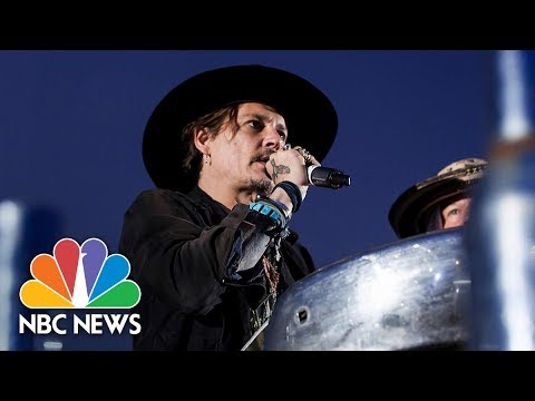 Johnny Depp: 'When Was The Last Time An Actor Assassinated A President?' | NBC News