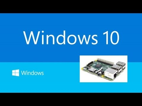 Raspberry Pi 2: Windows 10 IoT Core Insider Preview