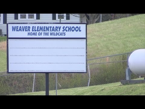 Weaver Elementary School closing at the end of the school year