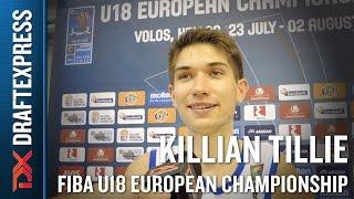 Killian Tillie 2015 FIBA U18 European Championship Interview