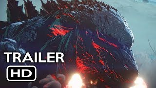 Nonton Godzilla  Monster Planet Official Trailer  1  2017  Netflix Animated Movie Hd Film Subtitle Indonesia Streaming Movie Download