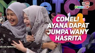 Video COMEL Influencer Korea Ayana Jihye Moon yg menetap di Indonesia dapat jumpa Wany Hasrita | MeleTOP MP3, 3GP, MP4, WEBM, AVI, FLV Desember 2018