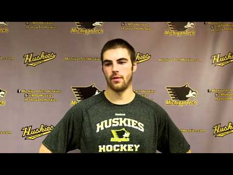 Ryan Furne Postgame Interview vs. Bowling Green, 12-13-13