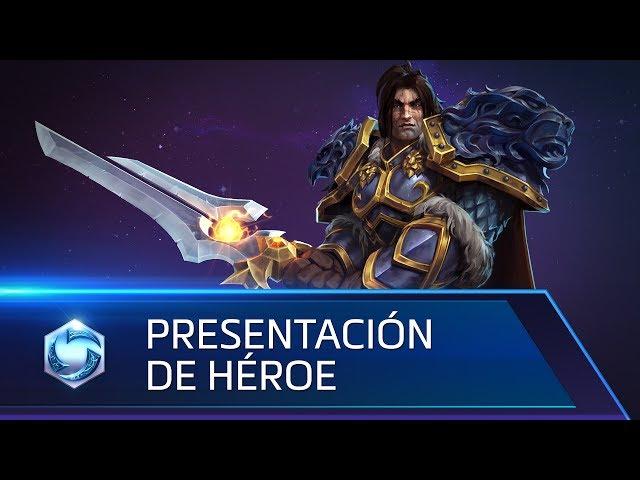 Presentación de héroe: Varian (subtítulos ES)