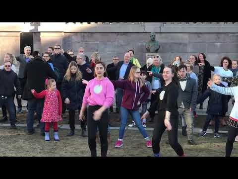 Veure vídeo Flashmob #citizenlikeyou Oslo Norway 2019