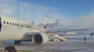 Kirkenes Norway  city images : Taking off from Kirkenes Norway in the icy winter
