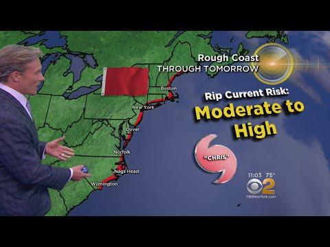 CBS2's Lonnie Quinn Tracking Hurricane Chris
