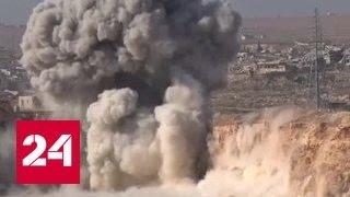 Саперы из РФ продолжают разминировать жилые кварталы в Алеппо
