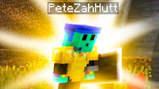 i got PeteZahHutt to duo with me in a Minecraft Speedrun..