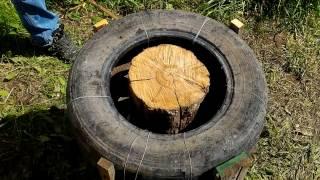 Как мастерски рубить дрова, не лишившись пальцев и не собирать мусор по всему двору