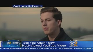 There's a new most-viewed video on YouTube. CBS2's Alex Denis reports.