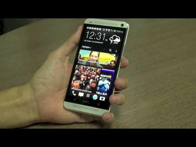 Đập hộp và dùng thử HTC One chính hãng