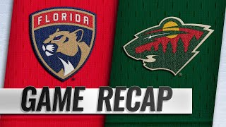 Granlund hits 300 career points as Wild down Panthers by NHL