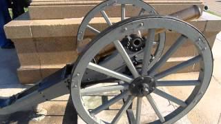 Italian 75mm Mountain Gun From The Battle Of Adowa 1896