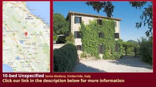Umbertide Italy  city photo : 10-bed Unspecified for Sale in Santa Giuliana, Umbertide, Italy on italianlife.today