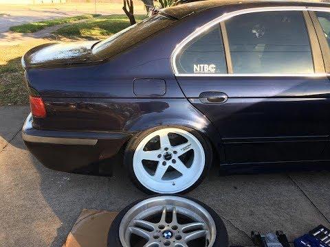E39 GETS NEW WHEELS - BMW E39 540i