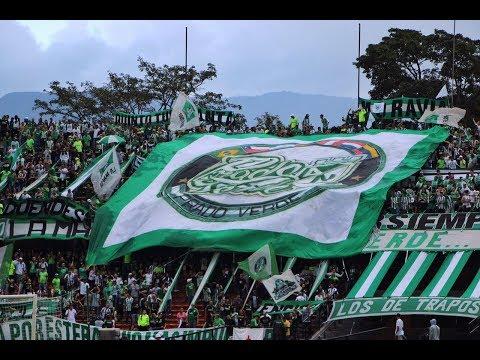 2da Bandera Prado Verde - Nacional vs Cali. - Los del Sur - Atlético Nacional - Colombia - América del Sur